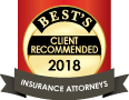Best's Client Recommended 2018 Insurance Attorneys